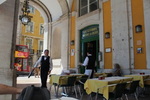 Cafe Martinho da Arcada - plus vieux cafe de Lisbonne