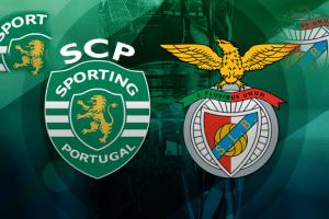 Emblemes Sporting Portugal et Benfica Lisbonne