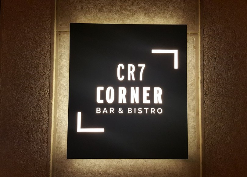 CR7 Corner Bar Bistro - Enseigne Restaurant Cristiano Ronaldo - Lisbonne