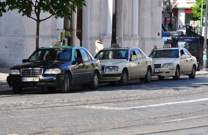 Station de Taxis Lisbonne