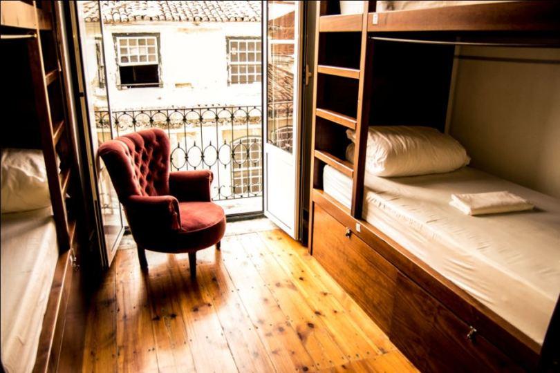 Home Lisbon Hostel - Dortoir 4 lits - Auberge de jeunesse Lisbonne
