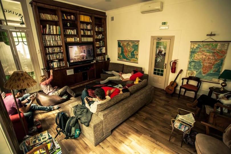 Home Lisbon Hostel - Salon - Auberge de jeunesse Lisbonne