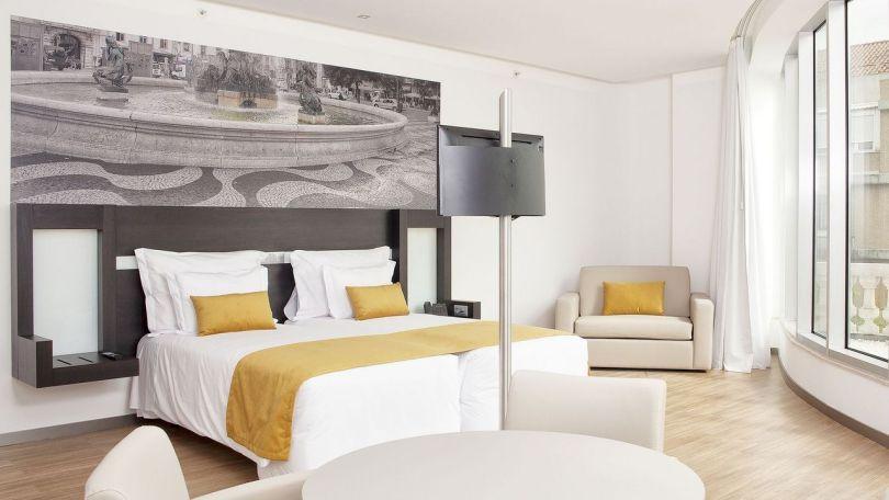 Jupiter Lisboa Hotel - Chambre - Lisbonne