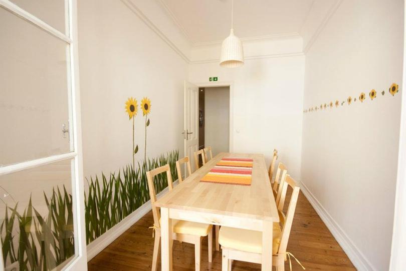Lisboa Central Hostel - Salle a manger - Auberge de jeunesse Lisbonne