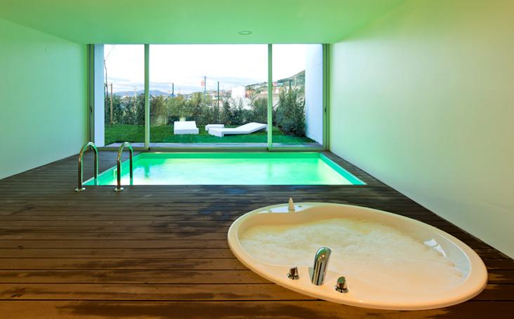 Motel H2On Hotel - Chambre avec piscine et jacuzzi prives - Hotel Lisbonne - Loures