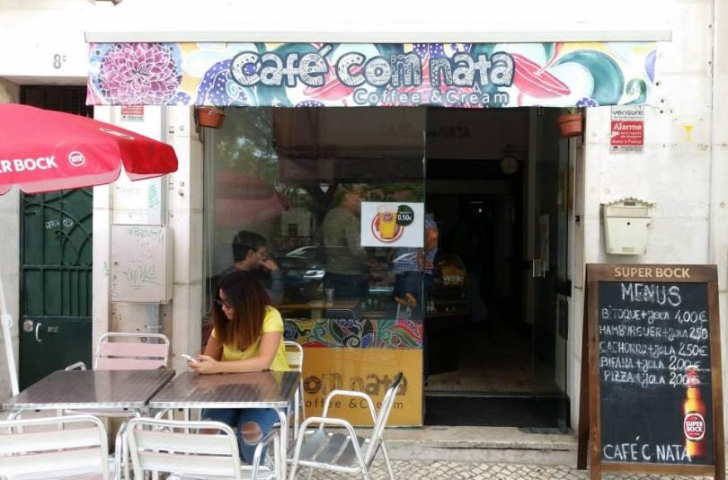 Bar Cafe com Natas - Biere pas chere - Lisbonne