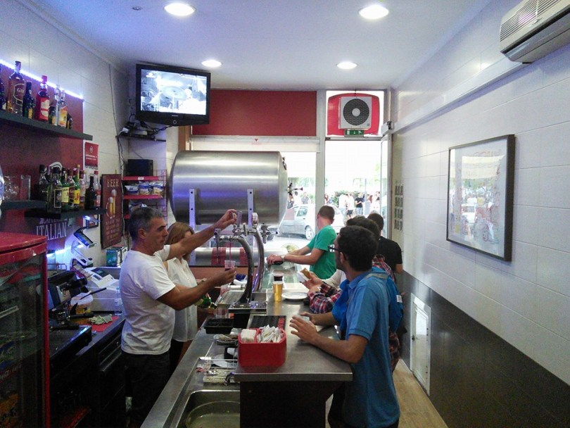 Cafetaria Italiana - Bar biere pas chere - Lisbonne
