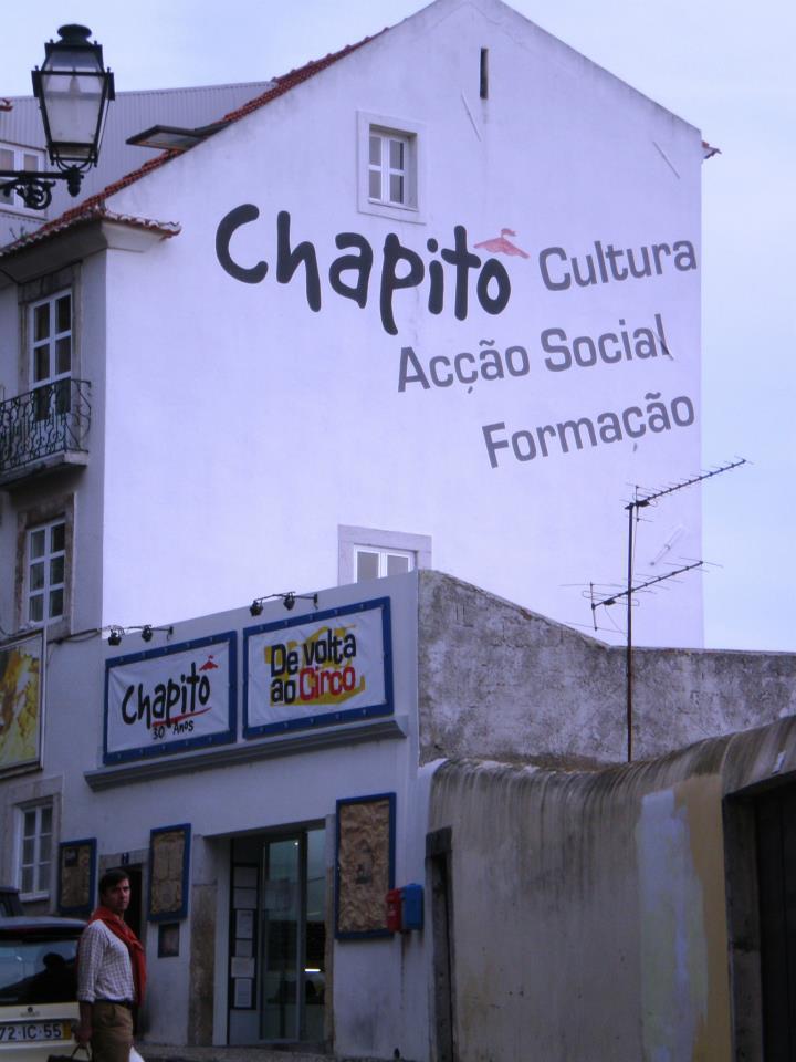 Chapito A Mesa - Facade Restaurant avec vue panoramique Lisbonne