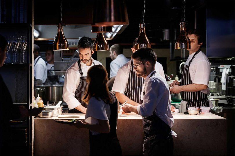 Restaurant Alma - 1 etoile guide Michelin - Chef Henrique Sa Pessoa et son equipe - Lisbonne