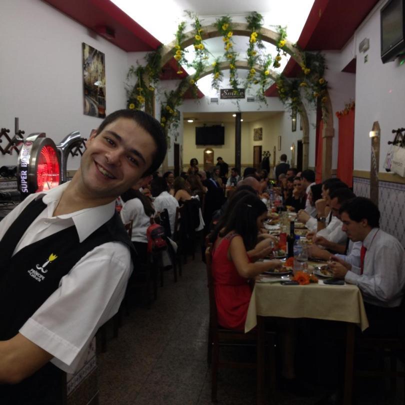 Serveur et restaurant Principe do Calhariz - Bistrot traditionnel - Lisbonne