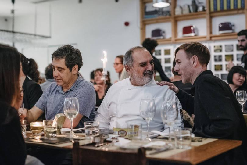 Akis Konstantinidis - Chef du restaurant Can the Can - Lisbonne