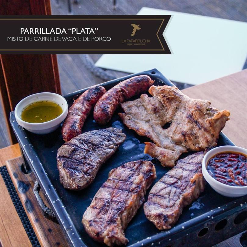 Parrillada Mixte - Viande de boeuf et de porc - La Paparrucha - Lisbonne