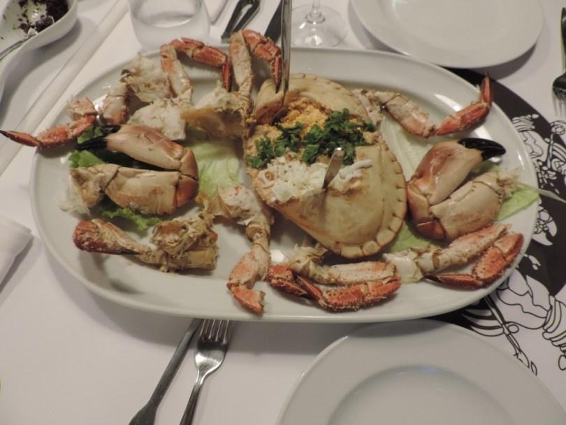 Crabe farci - Restaurant Ibo Marisqueira - Lisbonne