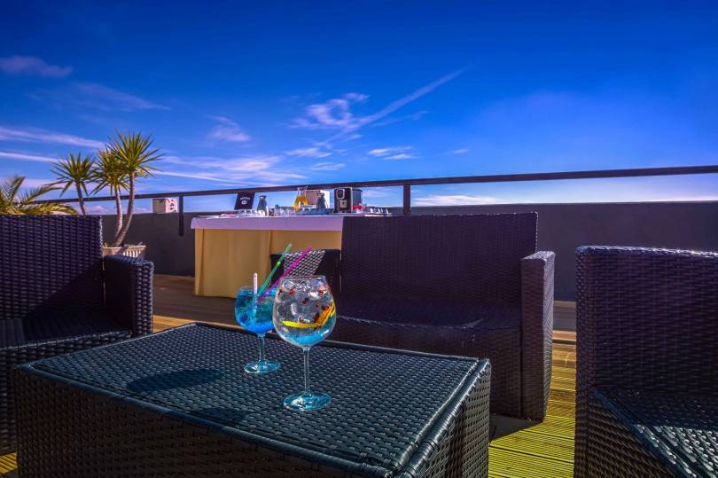 Highview Bar - Terrasse Rooftop - Holiday Inn - Lisbonne