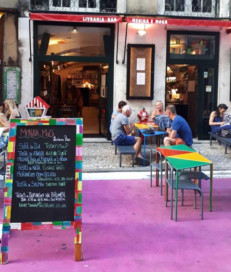 Bar - Librairie - Menina e Moca - Lisbonne
