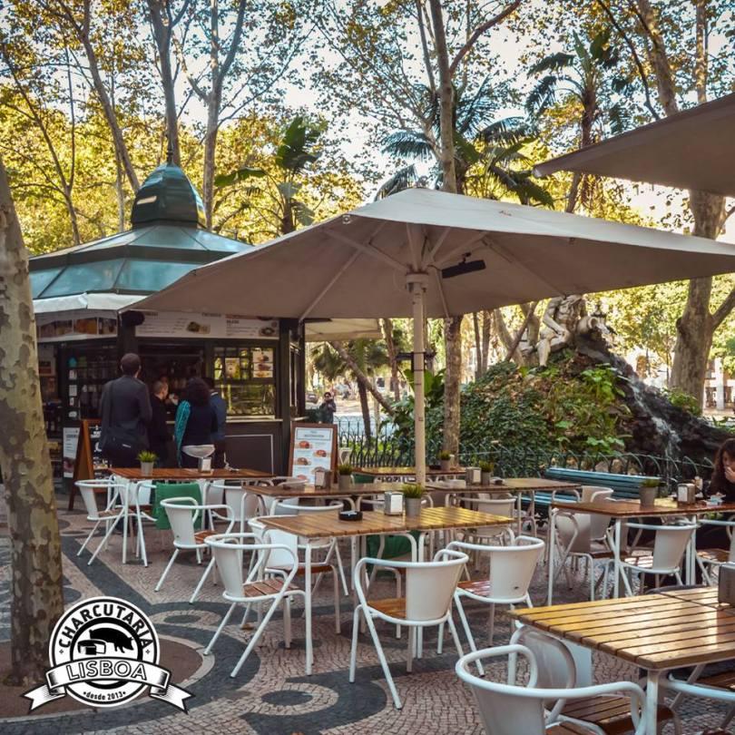 Charcutaria Lisboa - Kiosque Street Food - Charcuterie - Fromage - Lisbonne