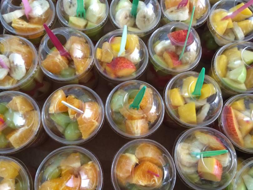 Coupe de fruits - Frua - food truck - street food - lisbonne
