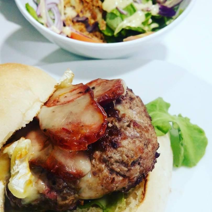 Hamburger - Hamburgueria da Parada - Street Food - Lisbonne