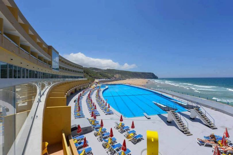 Piscine Arribas Sintra Hotel - Piscine eau de mer - Sintra - Lisbonne