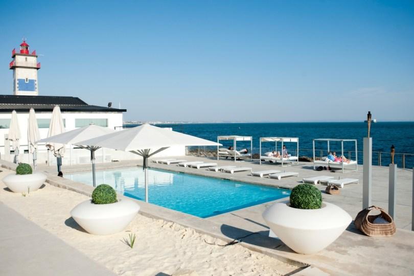 Piscine exterieure - Farol Design Hotel - Cascais - Lisbonne