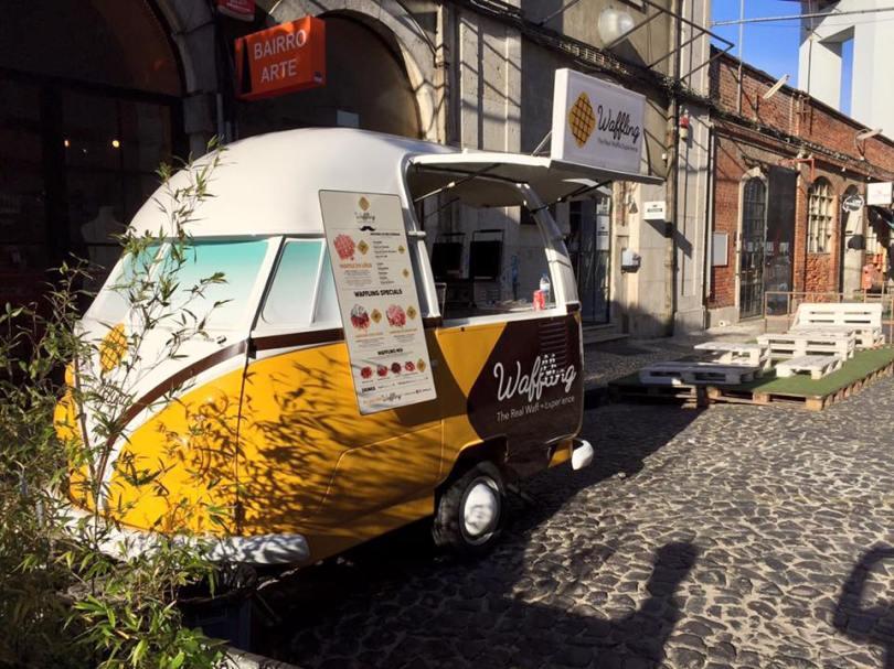 Waffling - Foodtruck gaufres belges - Street Food - Lisbonne