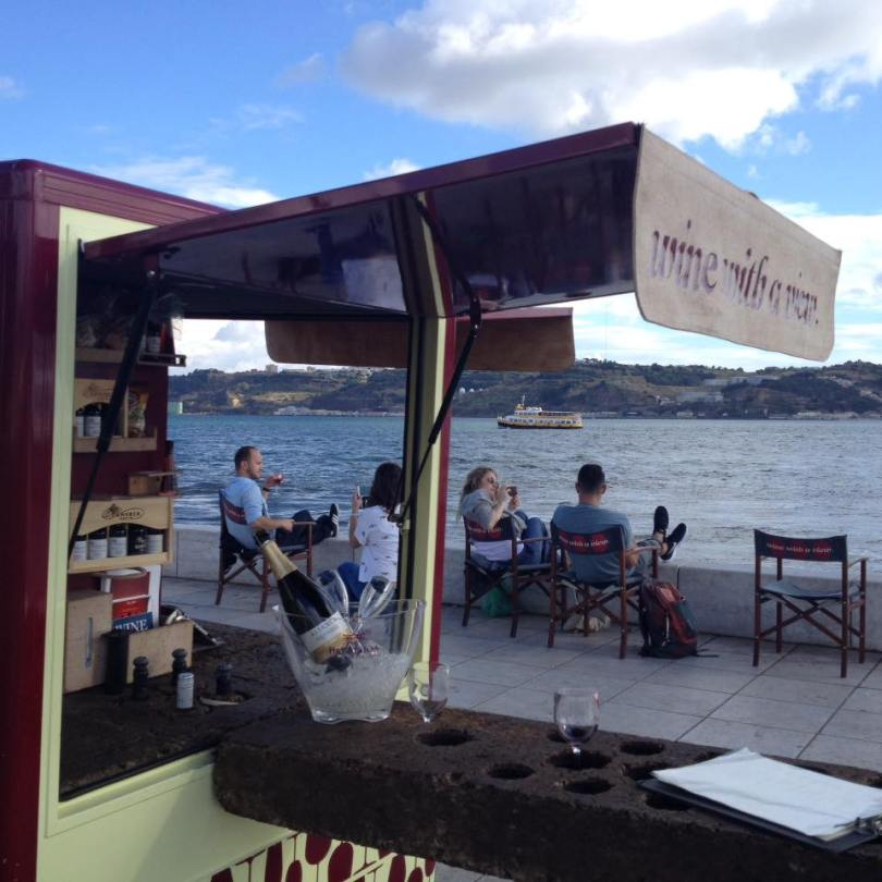 Wine with a View - Foodtrucks vins portugais - sites touristiques - Lisbonne