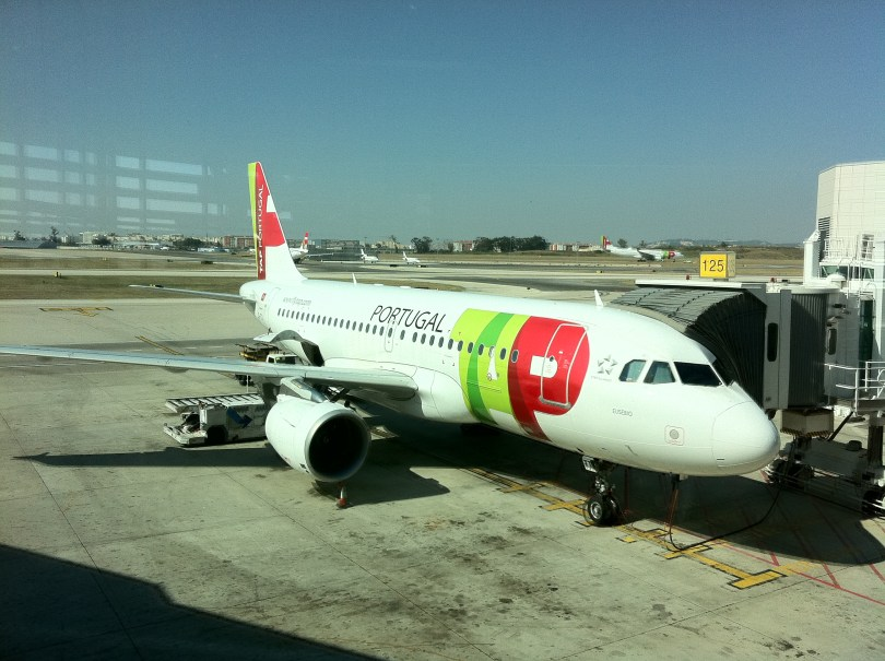 Avion Tap Air Portugal Aeroport de Lisbonne
