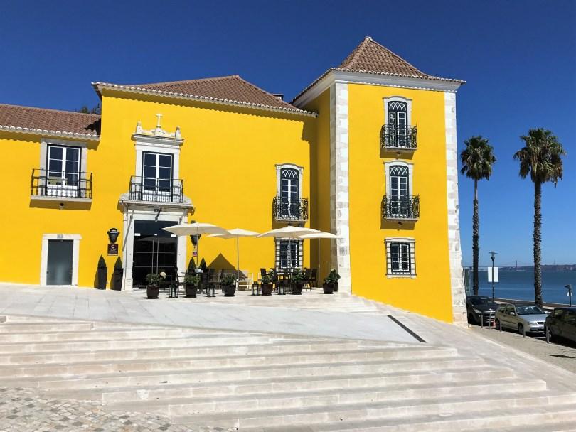 Facade Vila Gale Palacio dos Arcos - Hotel 5 etoiles Paco de Arcos - Lisbonne