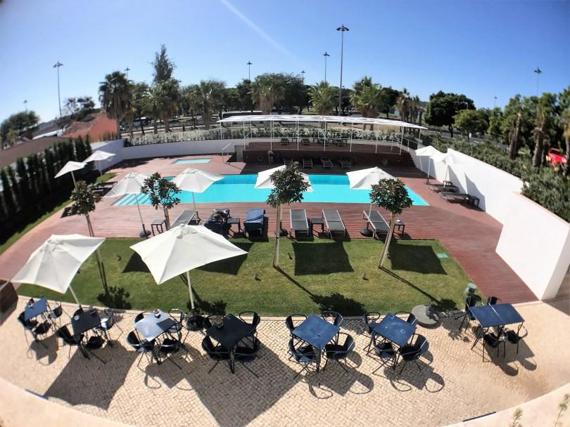 Terrasse et Piscine Exterieure - Hotel 5 etoiles Palacio do Governador - Lisbonne
