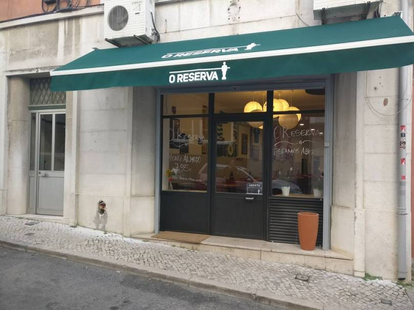 Entree de O Reserva - Restaurant Sports Bar - Lisbonne