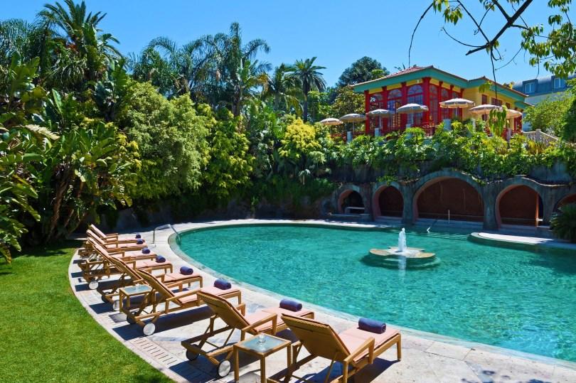 Piscine exterieure Pestana Palace Lisbonne - Hotel 5 etoiles