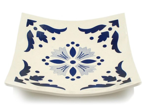 Coupelle artisanale motif azulejos - Site Luisa Paixao - Artisanat traditionnel portugais