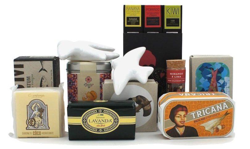 Exemple Coffret Cadeau - Produits Portugais - Site Luisa Paixao - Souvenirs - Portugal