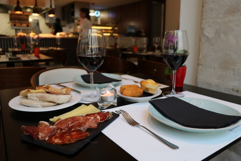 Apero au restaurant Mercado - The Lumiares Hotel Spa - Bairro Alto - Lisbonne