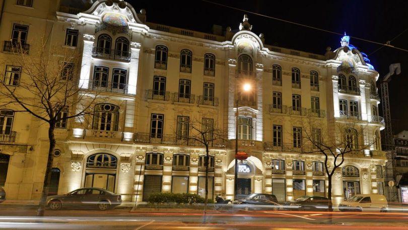 1908 Lisboa Hotel vu depuis avenue Almirante Reis - Lisbonne