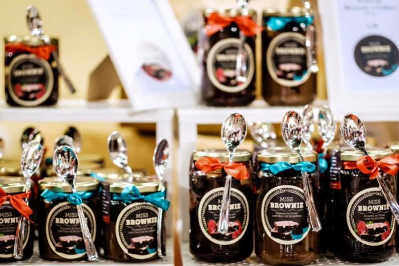 Brownies sous verre de Miss Brownie - Lisbonne - Portugal