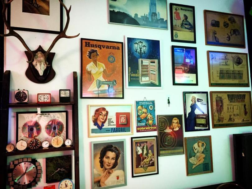 Cadres vintage chez Retroshop - Boutique vintage - LX Factory - Lisbonne