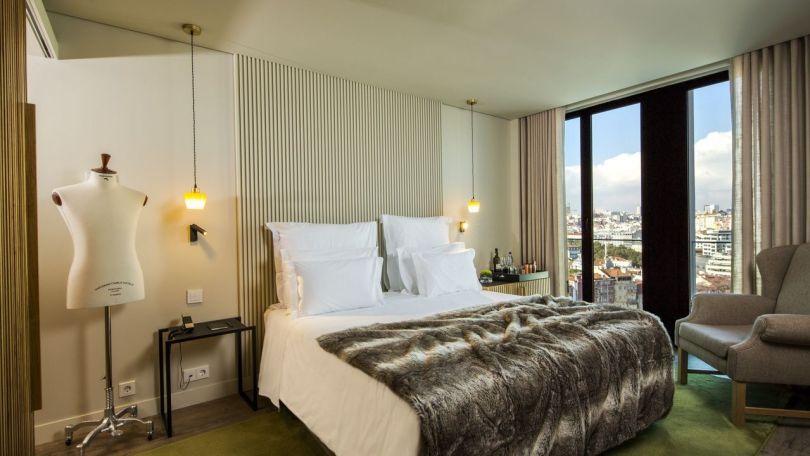 Chambre superieure - Memmo Principe Real - Boutique hotel 5 etoiles - Lisbonne