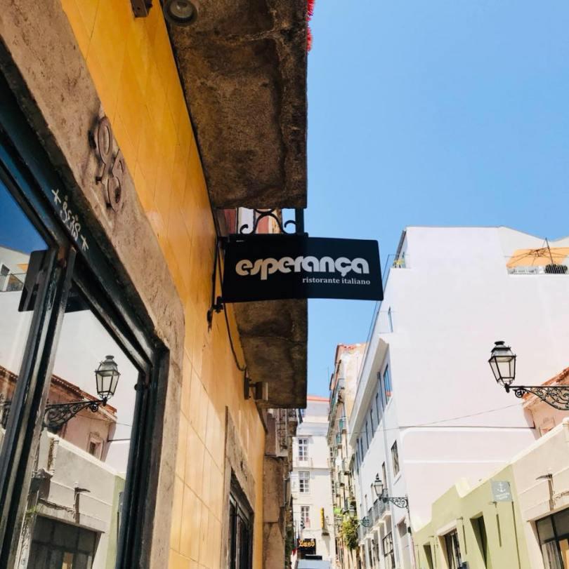 Esperanca Bairro - Restaurant Italien et Pizzeria - Bairro Alto - Lisbonne