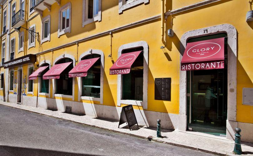 Glory Pizzeria - Hotel Turim Restauradores - Lisbonne