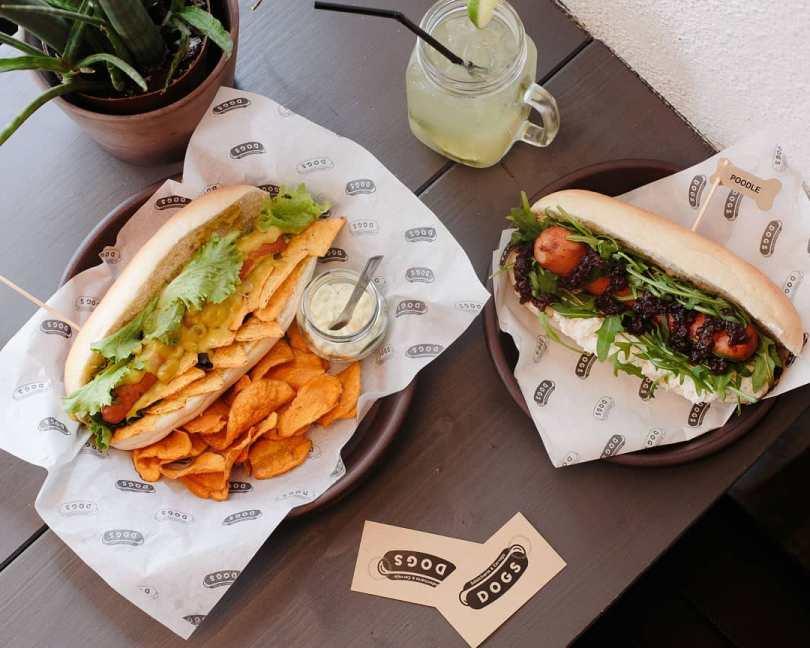 Hot Dogs de chez Dogs - LX Factory - Lisbonne