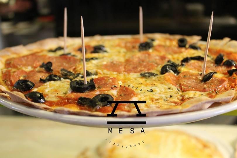 Pizza Relogio - Pizza de chez A Mesa - Lx Factory - Lisbonne