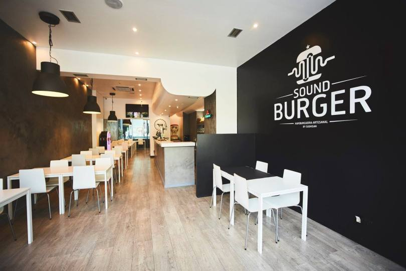 Restaurant Sound Burger - Burgers a volonte - Lisbonne