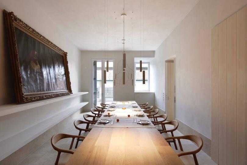 Salle a manger hotel Santa Clara 1728 - Lisbonne