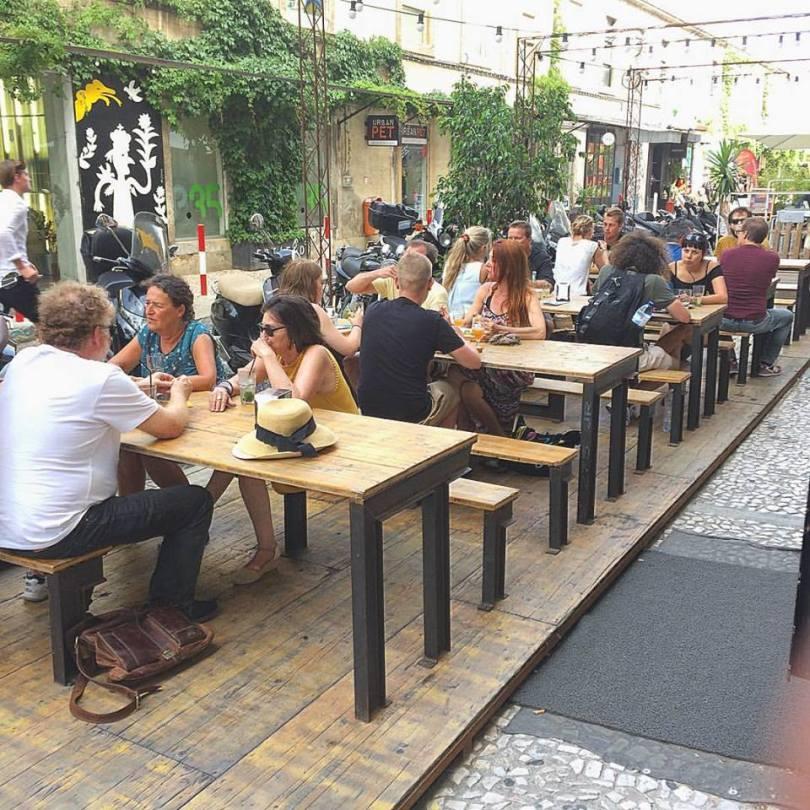 Terrasse El Chanta - Snackbar argentin - LX Factory - Lisbonne