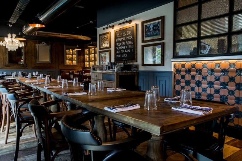 Salle du restaurant Jamie Italian - Lisbonne