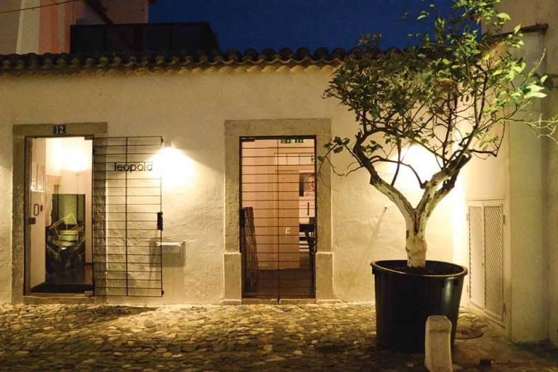 Entree restaurant Leopold - Hotel Palacio Belmonte - Lisbonne