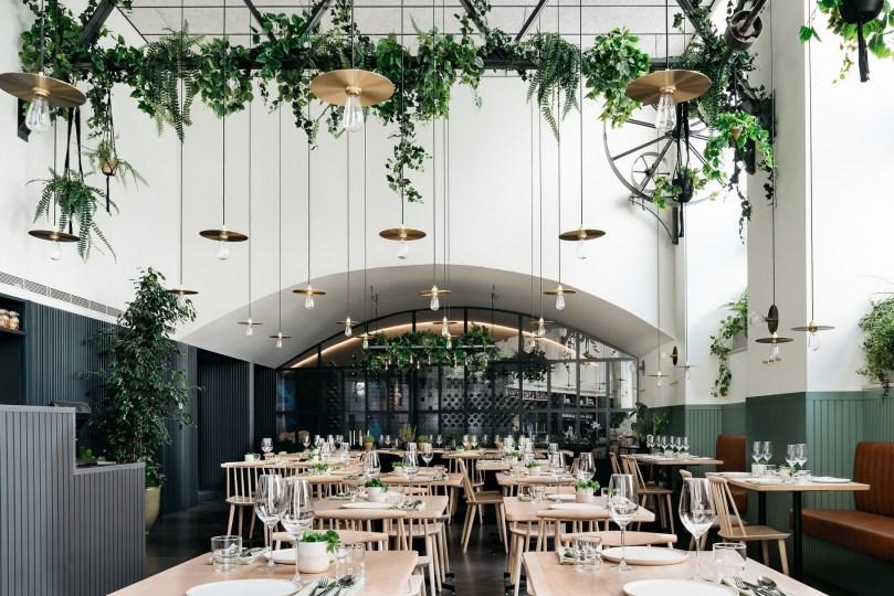 Salle du restaurant Prado - Lisbonne