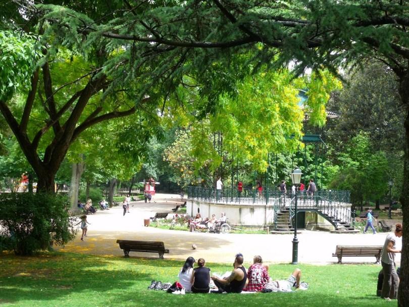 Jardim da Estrela - Jardin - Parc - Lisbonne
