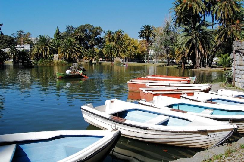 Lac principal du Jardin Campo Grande ou Jardin Mario Soares - Lisbonne